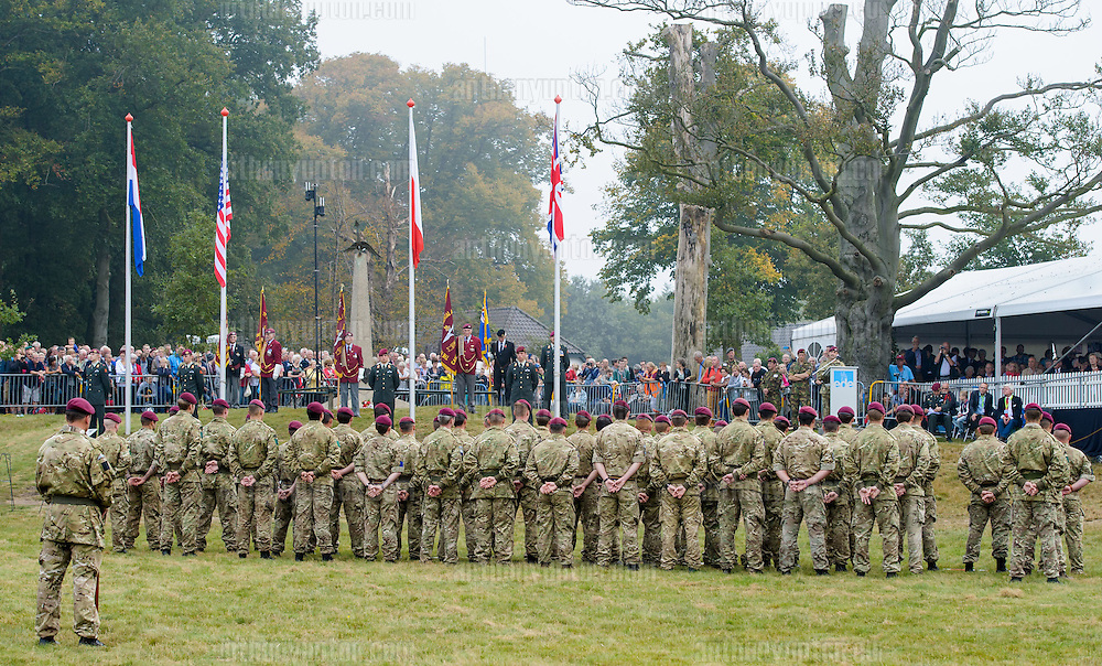 20140920       Copyright image 2014&copy;<br />  ,Daily Telegraph,  Daily Telegraph,<br /> Memembers of 4 Para look at the Arnhem Veterans<br /> <br /> Airborne Commemoration at Ginkle Heide, Ede, as part of the 70th Anniversary celebrations of the Battle of Arnhem, Operation Market Garden d 69yy0-  with 500 Paratroopers, with 60,000 visitors at <br /> For photographic enquiries please call Anthony Upton 07973 830 517 or email info@anthonyupton.com <br /> This image is copyright Anthony Upton 2014&copy;.<br /> This image has been supplied by Anthony Upton and must be credited Anthony Upton. The author is asserting his full Moral rights in relation to the publication of this image. All rights reserved. Rights for onward transmission of any image or file is not granted or implied. Changing or deleting Copyright information is illegal as specified in the Copyright, Design and Patents Act 1988. If you are in any way unsure of your right to publish this image please contact Anthony Upton on +44(0)7973 830 517 or email:
