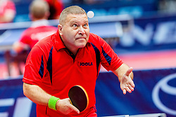 (HUN) ZBORAI Gyula Istvan in action during 15th Slovenia Open - Thermana Lasko 2018 Table Tennis for the Disabled, on May 10, 2018 in Dvorana Tri Lilije, Lasko, Slovenia. Photo by Ziga Zupan / Sportida