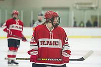 St Paul's School girls varsity hockey with Andover.. ©2019 Karen Bobotas Photographer