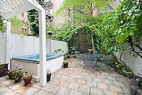 Garden at 134 west 80th St