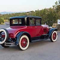 1926 Cadillac Series 314 Victoria Coupe on the 2012 Santa Fe Concorso High Mountain Tour