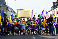 17/03/2016 Kinvara GAA underage crew at the the St. Patrick's Day Parade in Kinvara Co. Galway. Photo:Andrew Downes, xposure.