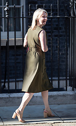 © Licensed to London News Pictures. 22/07/2019. London, UK. Chief Secretary to the Treasury Liz Truss arrives for Prime Minister Theresa May's farewell drinks reception at Downing Street.  Voting in the Conservative party leadership election ends today with the results to be announced tomorrow. Photo credit: Peter Macdiarmid/LNP