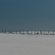 Fence in Snow, Duthil