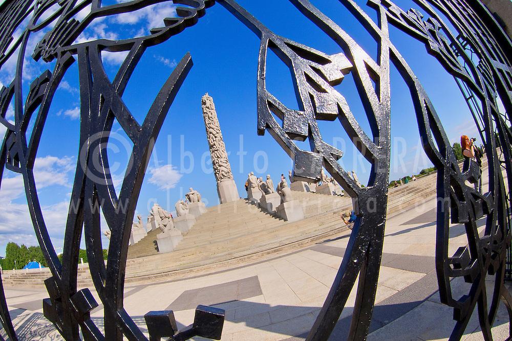 Alberto Carrera, Vigeland Sculpture Park, Frogner Park, Oslo, Norway, Europe