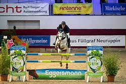 LEMMER Oliver (GER), Quidina<br /> Neustadt-Dosse - CSI 2019<br /> Finale Mittlere Tour<br /> Preis der Firma Eggersmann Futtermittel<br /> 12. Januar 2019<br /> © www.sportfotos-lafrentz.de/Stefan Lafrentz