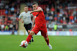 Leyton Orient's Dean Cox - photo mandatory by-line David Purday JMP- Tel: Mobile 07966 386802 23/08/14 - Leyton Orient v Walsall - SPORT - FOOTBALL - Sky Bet Leauge 1 - London -  Matchroom Stadium