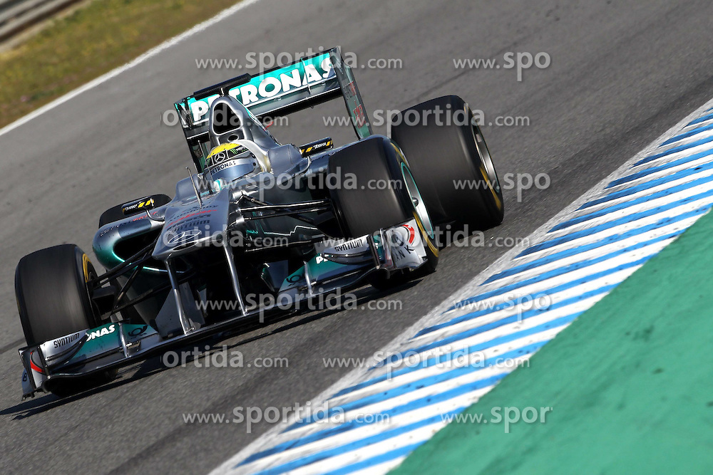 11.02.2011, Street Circuit. Jerez, ESP, Formel 1 Test 2 Valencia 2011,  im Bild Nico Rosberg (GER), Mercedes GP EXPA Pictures © 2011, PhotoCredit: EXPA/ nph/   poleposition.at        +++++ only AUT and SLO
