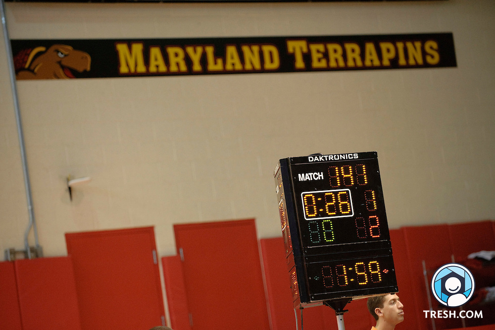 Images from University of Maryland Wrestling's 34-6 win over Hofstra Sunday, February 14, 2010.