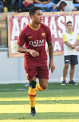 July 20, 2018 - Frosinone, Lazio, Italy - Justin Kluivert during the Pre-Season Friendly match between AS Roma and Avellino at Stadio Benito Stirpe on July 20, 2018 in Frosinone, Italy. (Credit Image: © Silvia Lore/NurPhoto via ZUMA Press)