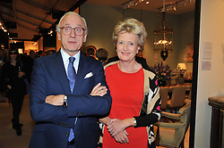 LORD & LADY CHADLINGTON Chairman of LAPADA at a preview evening of the annual London LAPADA (The Association of Art & Antiques Dealers) antiques Fair held in Berkeley Square, London on 18th September 2012.