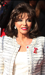 JOAN COLLINS attends the Prince's Trust & Samsung Celebrate Success awards at Odeon Leicester Square, Odeon, London, United Kingdom. Wednesday, 12th March 2014. Picture by i-Images