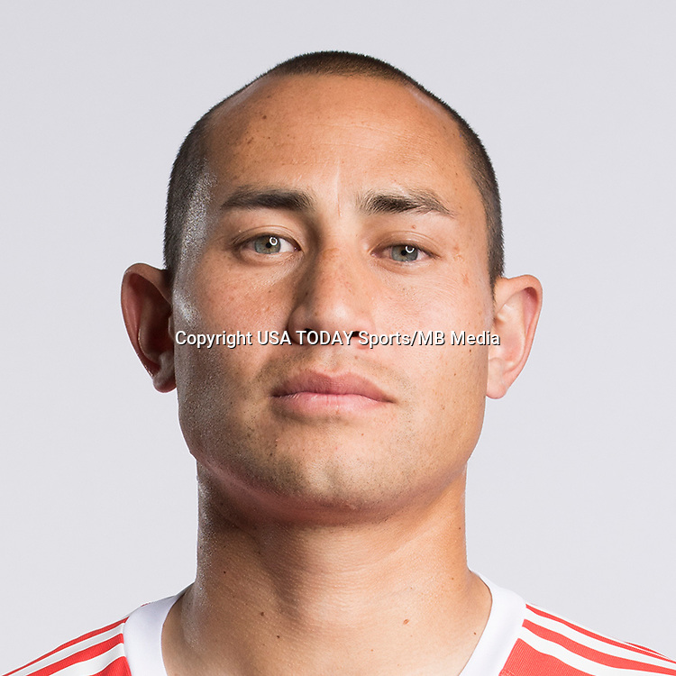 Feb 25, 2017; USA; New York Red Bulls player Luis Robles poses for a photo. Mandatory Credit: USA TODAY Sports
