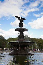 Bethesda Fountain in New York City