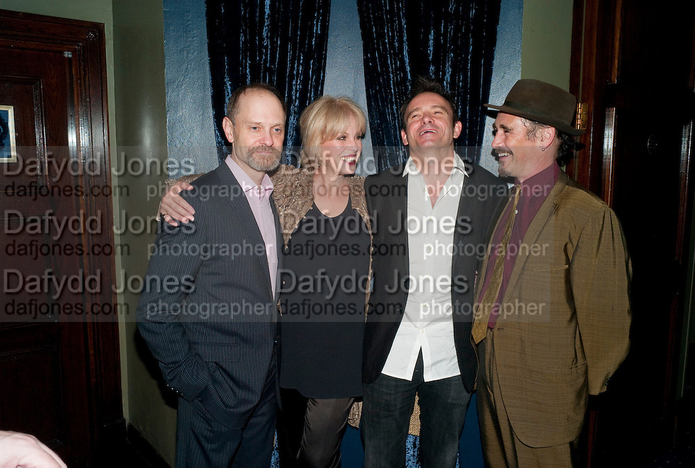 DAVID HYDE PIERCE; JOANNA LUMLEY; MATHEW WARCHUS; MARK RYLANCE, LA BæTE PRESS NIGHT, COMEDY THEATRE, PANTON STREET, SW1 After party at CafŽ de Paris, 3-4 Coventry Street, 7 July 2010. .-DO NOT ARCHIVE-© Copyright Photograph by Dafydd Jones. 248 Clapham Rd. London SW9 0PZ. Tel 0207 820 0771. www.dafjones.com.<br /> DAVID HYDE PIERCE; JOANNA LUMLEY; MATHEW WARCHUS; MARK RYLANCE, LA BÊTE PRESS NIGHT, COMEDY THEATRE, PANTON STREET, SW1 After party at Café de Paris, 3-4 Coventry Street, 7 July 2010. .-DO NOT ARCHIVE-© Copyright Photograph by Dafydd Jones. 248 Clapham Rd. London SW9 0PZ. Tel 0207 820 0771. www.dafjones.com.