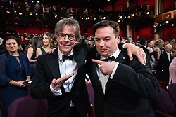 Dana Carvey and Mike Myers talk during the live ABC Telecast of The 91st Oscars® at the Dolby® Theatre in Hollywood, CA on Sunday, February 24, 2019.
