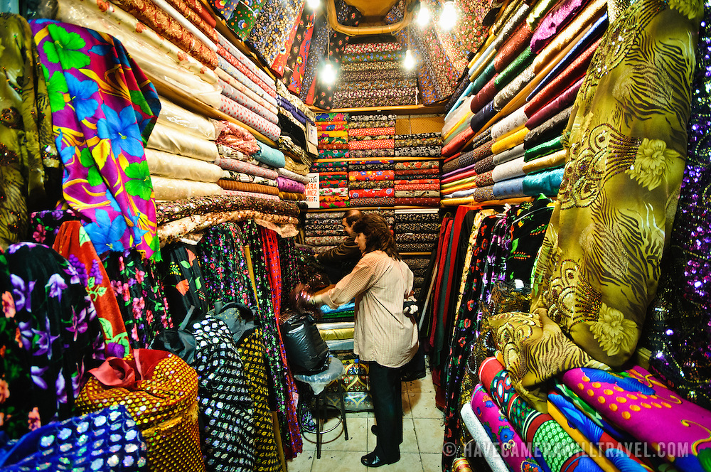 fabric store in istanbul 39 s grand bazaar have camera will travel photos. Black Bedroom Furniture Sets. Home Design Ideas