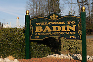 Town of Badin, built in the early 1900s by French Aluminum Company, later ALCOA, now the site of controversy over ALCOA's right to operate  dams built for ALCOA's now-shuttered  aluminum smelter. ALCOA wants to renew its FERC license to oeprate the dams, some locals say the righs to the river belong to the people and since the plant is no longer providing jobs, ALCOA should not have the right to generate electriicty for its own profit.