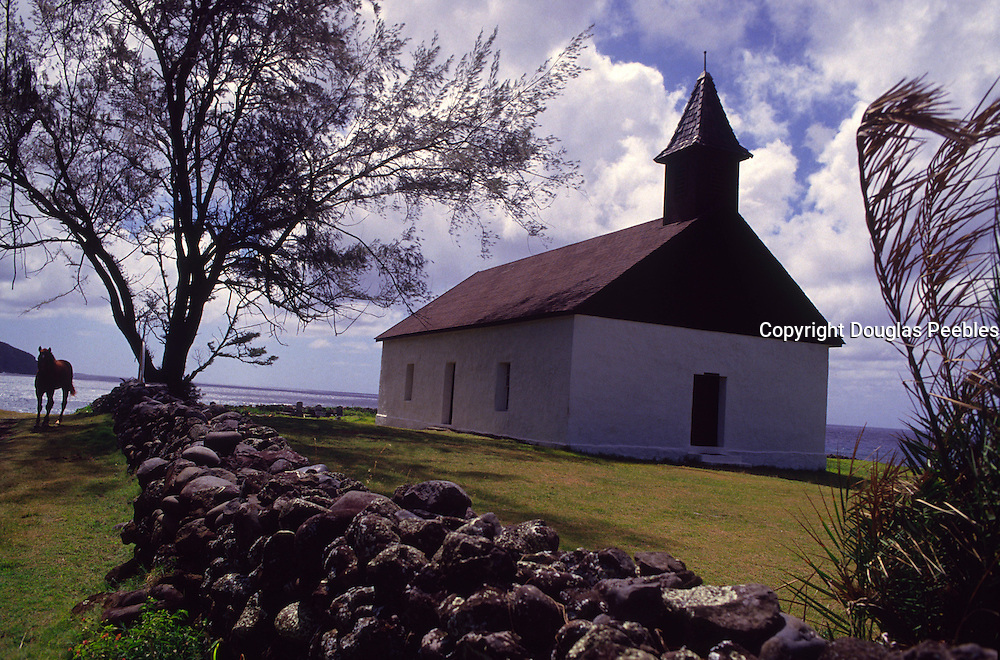 Huialoha Church, Kaupo, Maui, Hawaii<br />