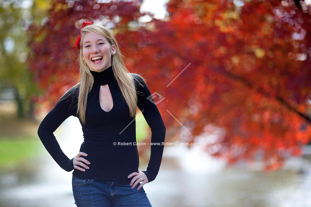 Rachel Stewart high school senior portrait..(Photo by Robert Caplin)..