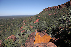 NAMIBIA GROOTFONTEIN 2MAY14 - Viewing platform at the Waterberg Plateau National Park near Grootfontein, Namibia.<br /> <br /> <br /> <br /> jre/Photo by Jiri Rezac<br /> <br /> <br /> <br /> © Jiri Rezac 2014