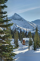 Wendy Thmpson Hut located in Marriott Basin, Coast Mountains British Columbia