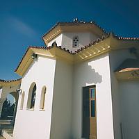 Modern church in Greece