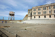 US-SAN FRANCISCO: Alcatraz, former prison on an island in the San Francisco Bay. PHOTO:  GERRIT DE HEUS