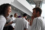Cecilia Zandalasini, Nicolo Melli<br /> Raduno Nazionale Italiana Maschile Senior<br /> Media Day - Sky <br /> Milano, 21/07/2017<br /> Foto Ciamillo-Castoria/ M.Ceretti