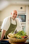 Head Chef David Mullan, in Eithna's By the Sea restaurant, in Mullaghmore, Co. Sligo.<br /> <br /> Photo: James Connolly<br /> 01JUL17