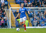 Portsmouth defender Christian Burgess during the Sky Bet League 2 match between Portsmouth and Carlisle United at Fratton Park, Portsmouth, England on 2 April 2016. Photo by Adam Rivers.