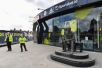 Football - 2019 / 2020 Premier League - Watford vs. Leicester City<br /> <br /> A general view outside the ground, at Vicarage Road.<br /> <br /> COLORSPORT/ASHLEY WESTERN