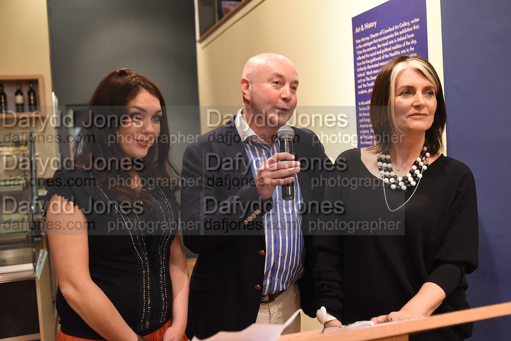 POLLY MCGETTIGAN;; JEN KELLY; CATHY O'CONNOR, The Arthur Cox Irish Fashion Showcase 2015,  Irish based designers chosen to be part of this year's Arthur Cox Irish Fashion Showcases The Mall Galleries, London. 13 May 2015.