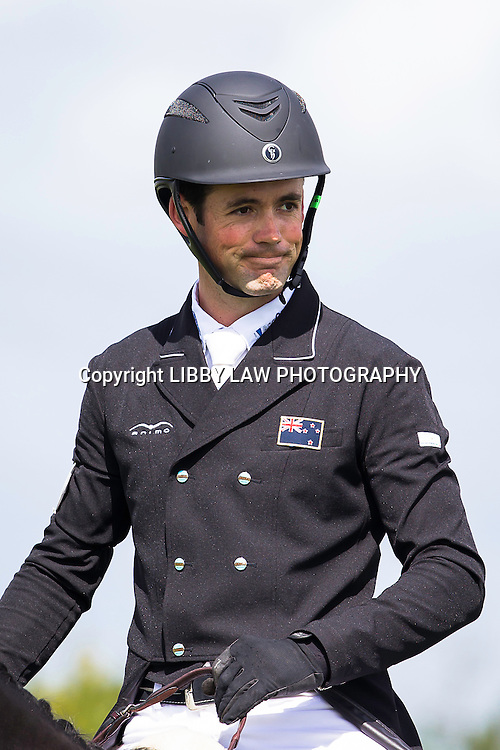 NZL-Jonathan Paget (HENTON AFTER DARK) EVENTING: Interim: 2ND-CIC3* DRESSAGE: 2015 NZL-Farmlands Horse Of The Year Show, Hastings (Thursday 19 March) CREDIT: Libby Law CREDIT: LIBBY LAW PHOTOGRAPHY