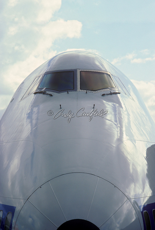 747 Airplane Nose