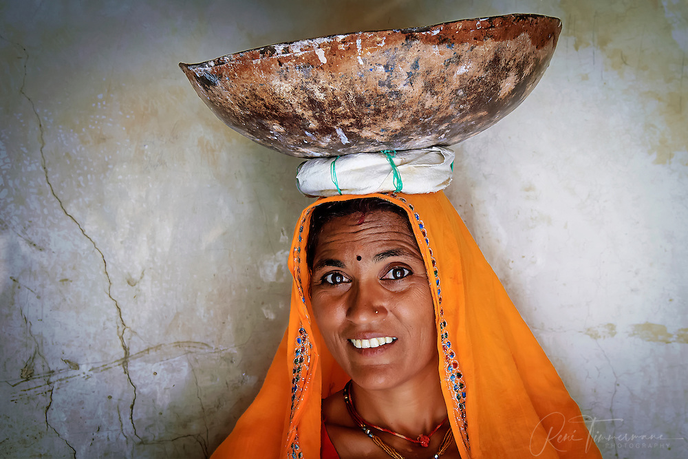 A working woman in Jaipur