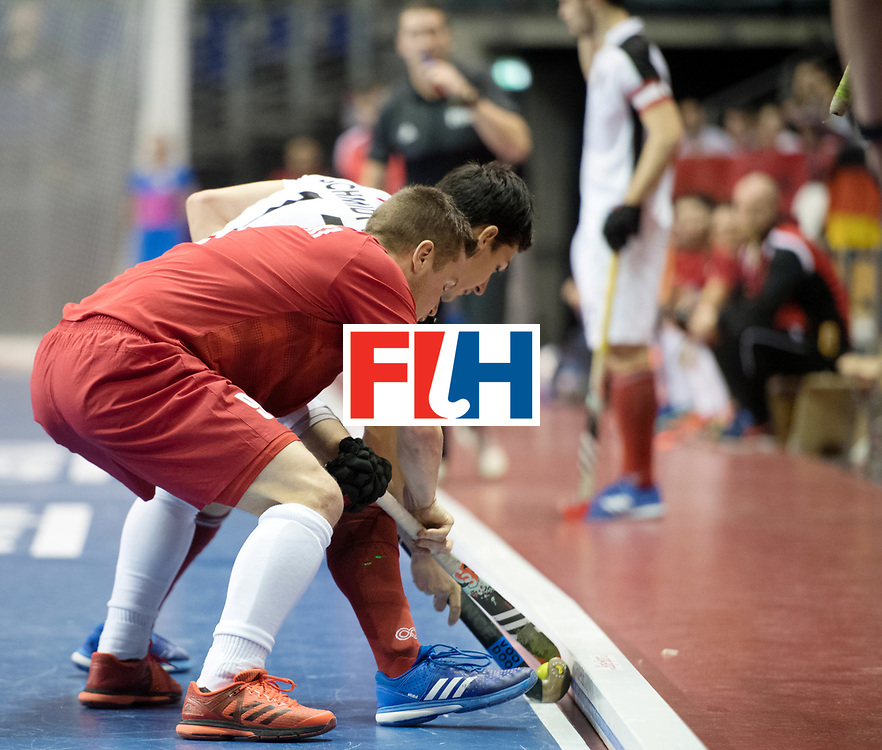 BERLIN - Indoor Hockey World Cup<br /> Quarterfinal 2: Austria - Poland<br /> foto: <br /> WORLDSPORTPICS COPYRIGHT FRANK UIJLENBROEK