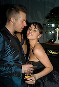 Lily Allen and Dickie Storer, Weinstein Bafta after-party in association with Chopard. Bungalow 8. London. 10  February 2008.  *** Local Caption *** -DO NOT ARCHIVE-© Copyright Photograph by Dafydd Jones. 248 Clapham Rd. London SW9 0PZ. Tel 0207 820 0771. www.dafjones.com.