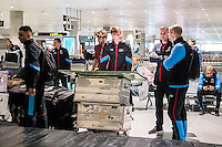 BENAHAVIS - 02-01-2017, Trainingskamp, AZ, AZ speler Wout Weghorst, Niels Kok, AZ speler Ron Vlaar
