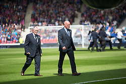 Falkirk's manager Peter Houston. Falkirk 1 v 2 Inverness CT, Scottish Cup final at Hampden.