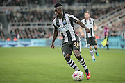 Christian Atsu (Newcastle United) during the EFL Cup 4th round match between Newcastle United and Preston North End at St. James's Park, Newcastle, England on 25 October 2016. Photo by Mark P Doherty.