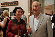 SCARLETT OLIVER; EDGAR ASTAIRE;, Royal Academy of Arts Summer Exhibition Preview Party 2011. Royal Academy. Piccadilly. London. 2 June <br /> <br />  , -DO NOT ARCHIVE-© Copyright Photograph by Dafydd Jones. 248 Clapham Rd. London SW9 0PZ. Tel 0207 820 0771. www.dafjones.com.