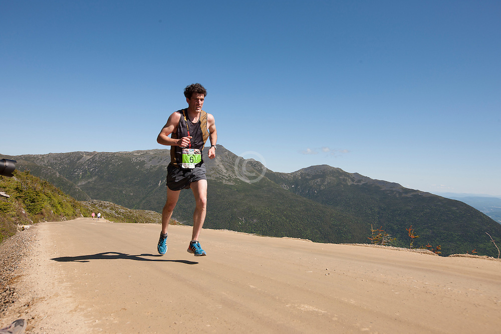 53rd Mt Washington 7.6 mile Road Race Base to Summit: Matthew Byrne