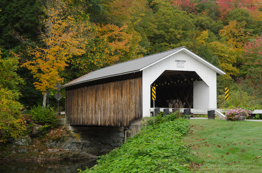 Comstock covered bridge, Montgomery, Vermont