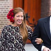 NLD/Apeldoorn/20130105 - Huwelijk prins Jaime en prinses Viktoria Cservenyak, Prinses Juliana Jr. en Nicolas