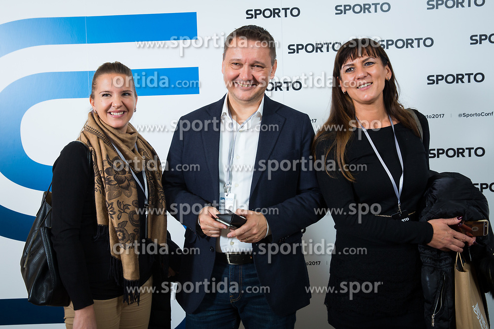 during Sports marketing and sponsorship conference Sporto 2017, on November 16, 2017 in Hotel Slovenija, Congress centre, Portoroz / Portorose, Slovenia. Photo by Vid Ponikvar / Sportida