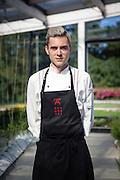 Iker Barrenetxea from Azurmendi restaurant, in Larrabetzu, near Bilbao, Spain.