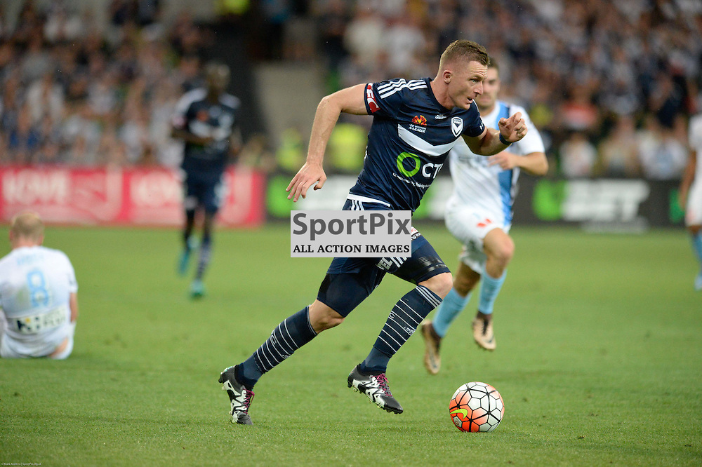 Besart Berisha of Melbourne Victory - Hyundai A-League, 19th December 2015, RD11 match between Melbourne City FC v Melbourne Victory FC at Aami Park in a 2:1 win to City in front of a 23,000+ crowd. Melbourne Australia. © Mark Avellino | SportPix.org.uk