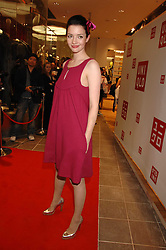 Actress TALULAH RILEY at a party to celebrate the opening of the new Uniqlo store at 331 Oxford Street, London W1 on 6th November 2007.<br />