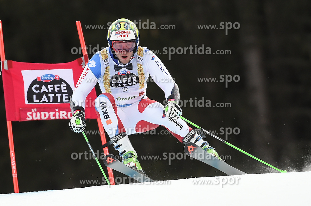 18.12.2016, Grand Risa, La Villa, ITA, FIS Weltcup Ski Alpin, Alta Badia, Riesenslalom, Herren, 1. Lauf, im Bild Justin Murisier (SUI) // in action during 1st run of men's Giant Slalom of FIS ski alpine world cup at the Grand Risa in La Villa, Italy on 2016/12/18. EXPA Pictures © 2016, PhotoCredit: EXPA/ Erich Spiess